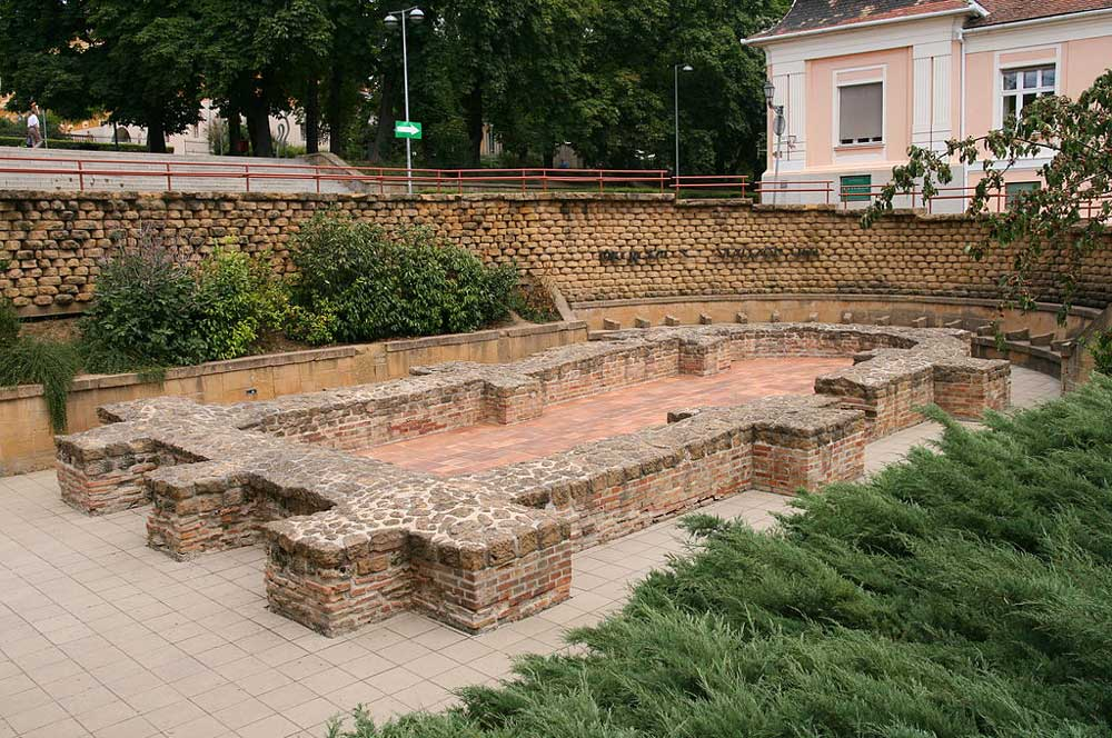 travelibro Hungary Budapest Pecs Siofok Hungary with Kids Roman and Early Christian Ruins