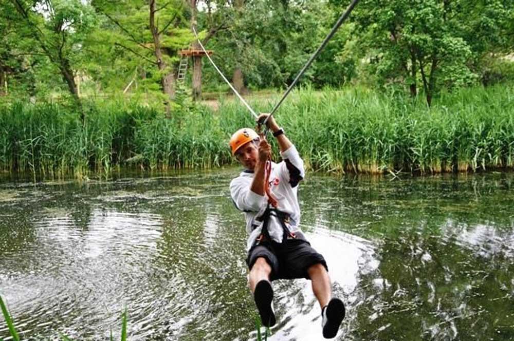 travelibro Hungary Budapest Heviz Lillafured Pecs Sarvar Siofok Visegrad Honeymoon in Hungary Sarvar Adventure Park