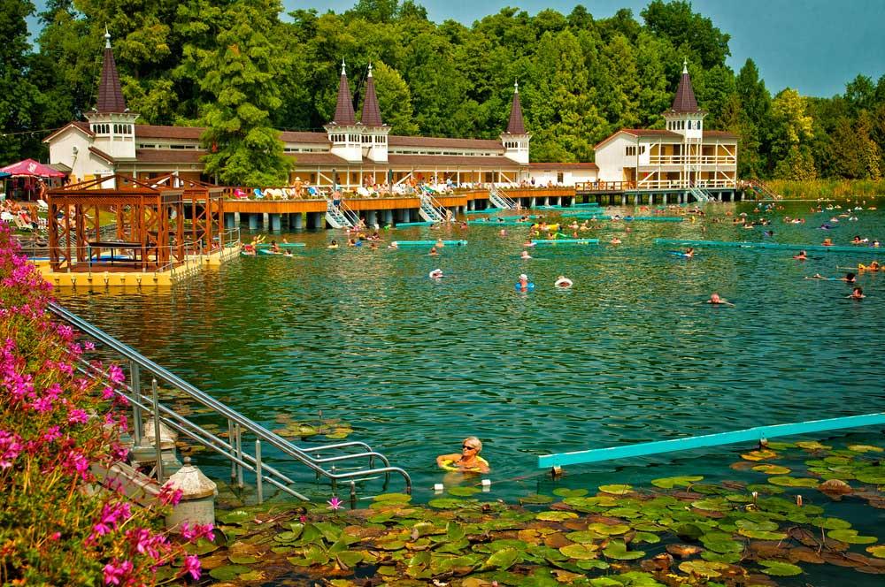travelibro Hungary Budapest Heviz Lillafured Pecs Sarvar Siofok Visegrad Honeymoon in Hungary Heviz Lake