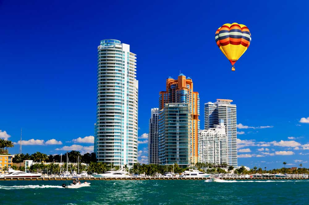 travelibro United States of America Chicago Las Vegas Los Angeles Miami Napa New York San Francisco Wailea Washington, D.C. USA Luxury Hot Air Ballooning