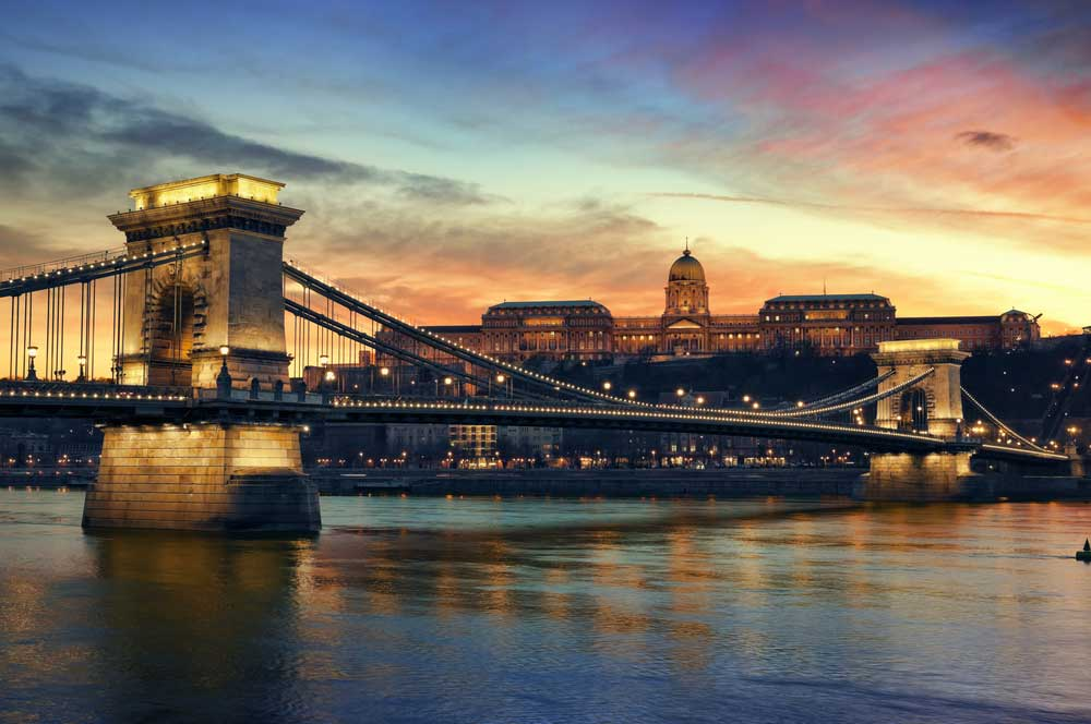 travelibro Hungary Budapest Pecs Siofok Hungary with Kids Chain Bridge