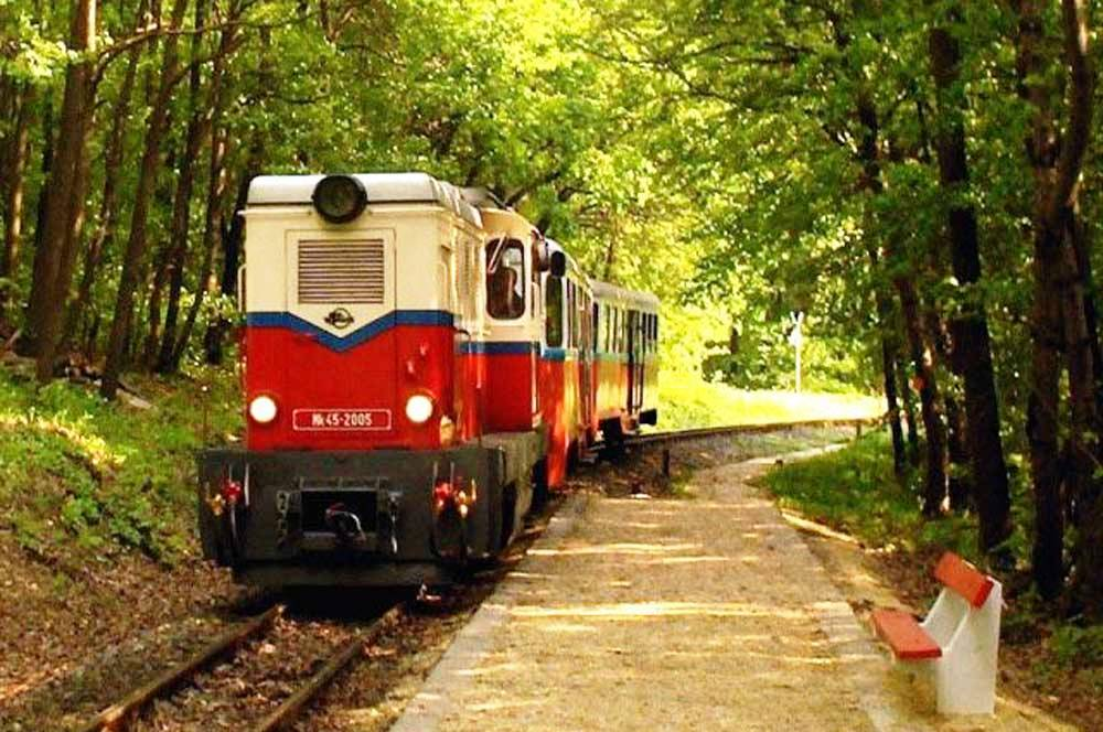 travelibro Hungary Budapest Pecs Siofok Hungary with Kids Children's Railway