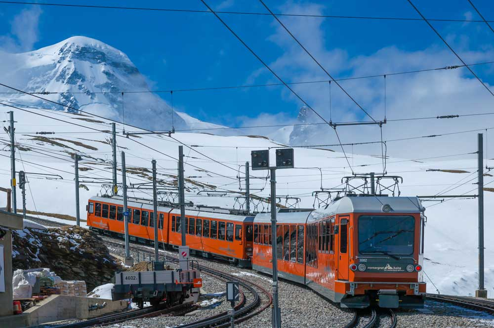 travelibro Switzerland Geneva Interlaken Montreux St. Moritz Zermatt Zurich Switzerland Honeymoon The Gornergrat Bahn