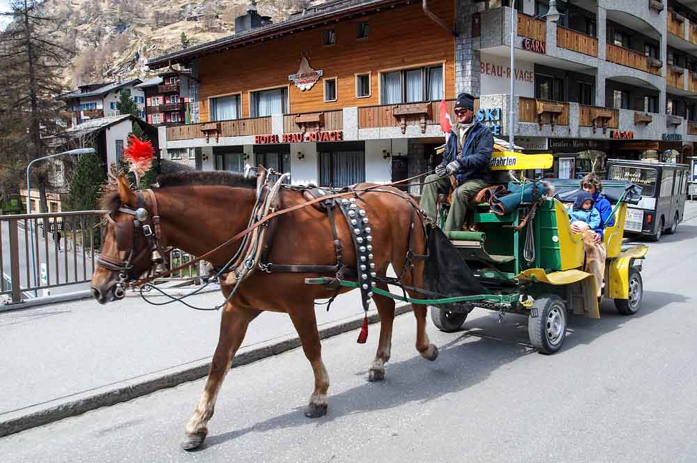 travelibro Switzerland Geneva Interlaken Montreux St. Moritz Zermatt Zurich Switzerland Honeymoon Horse Drawn Carriage Ride
