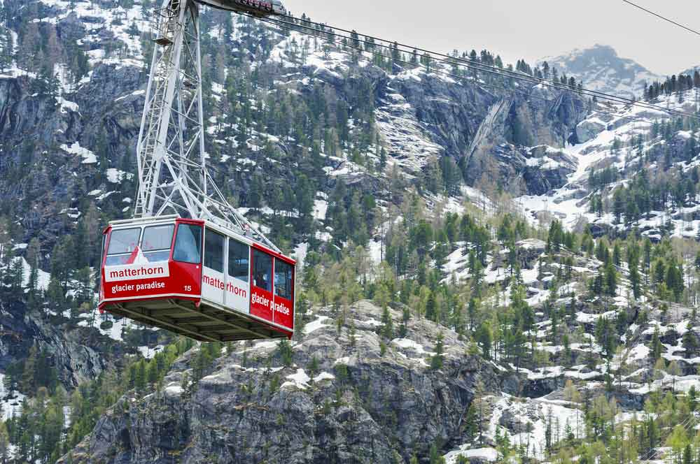 travelibro Switzerland Geneva Interlaken Montreux St. Moritz Zermatt Zurich Switzerland Honeymoon Cable Car to Matterhorn