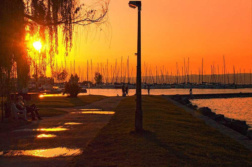 travelibro Hungary Budapest Heviz Lillafured Pecs Sarvar Siofok Visegrad Honeymoon in Hungary Siofok Marina