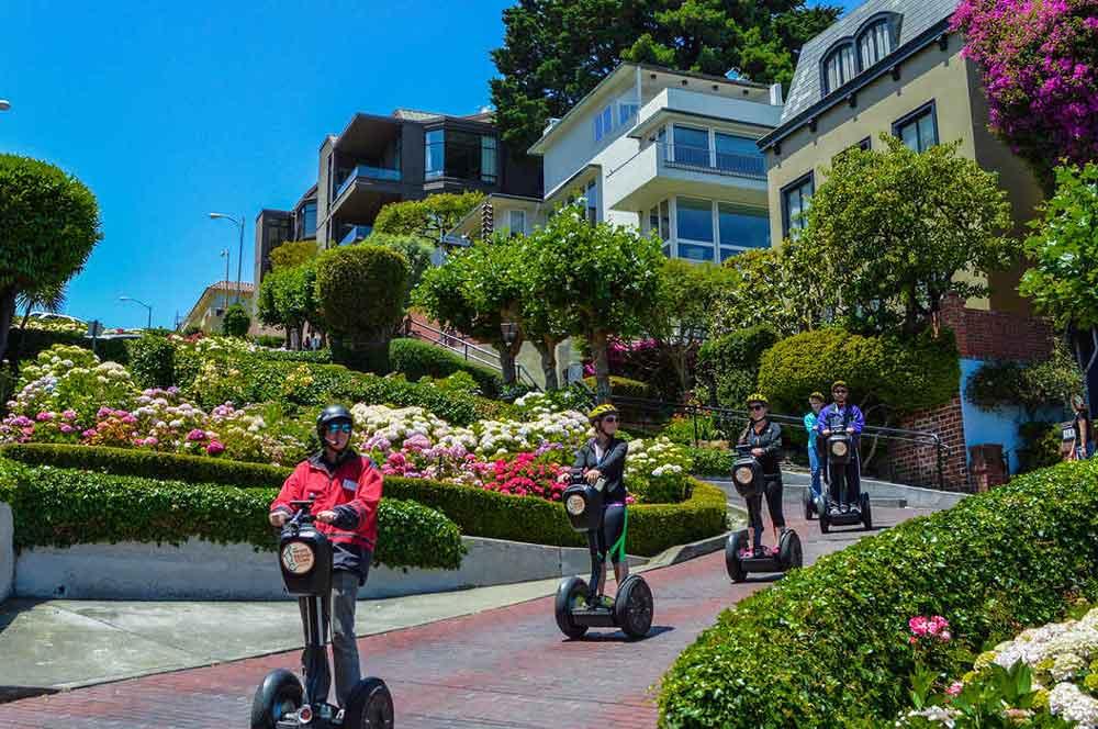travelibro United States of America Los Angeles San Francisco San Francisco & LA Segway Tour