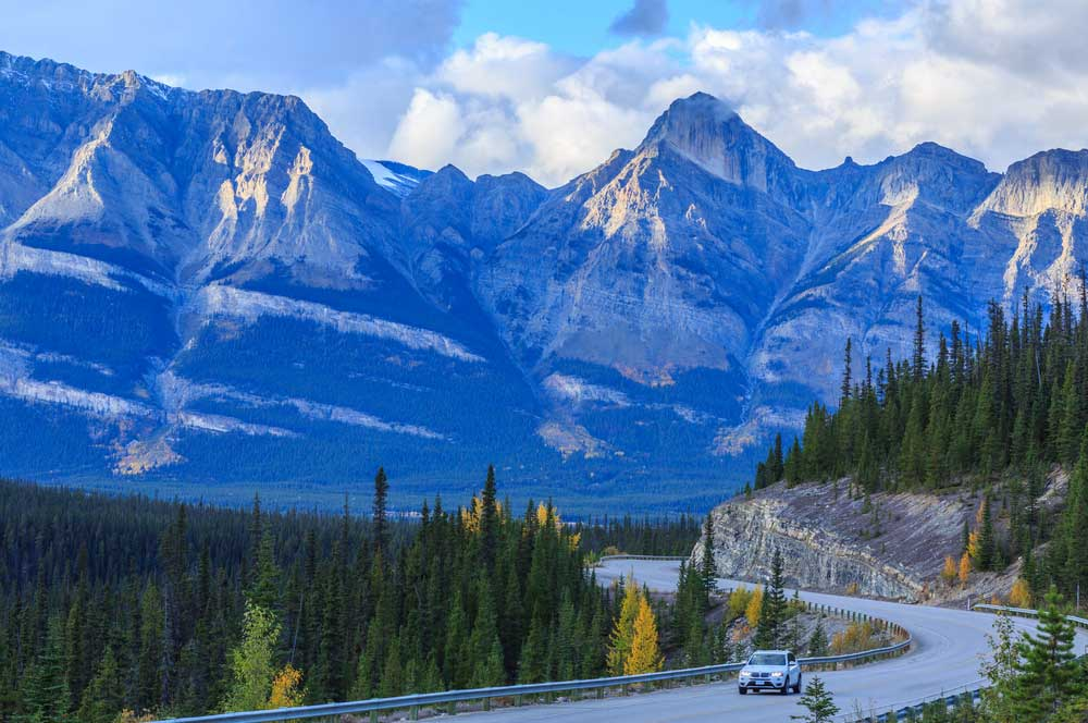 travelibro Canada Jasper Lake Louise Canadian Rockies Icefields Parkway