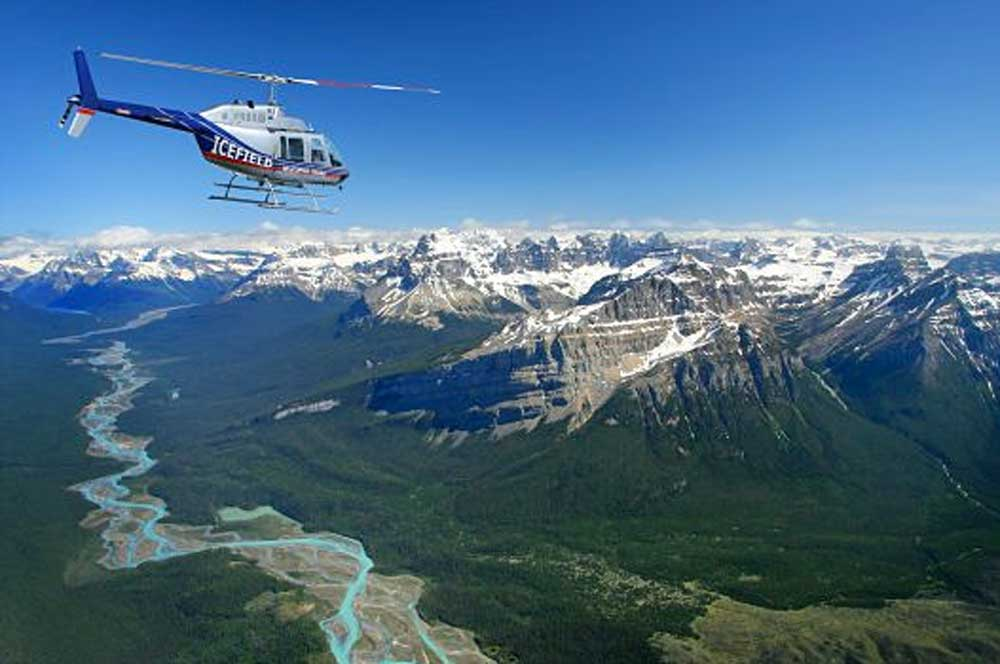 travelibro Canada Jasper Lake Louise Canadian Rockies Helicopter Tour