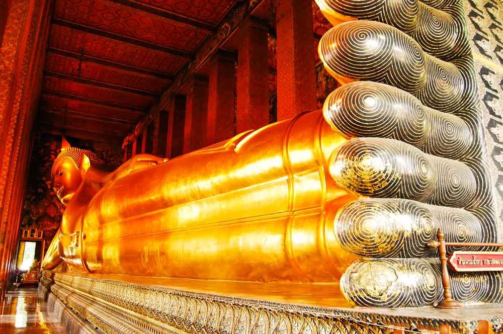 travelibro Thailand Bangkok Chiang Mai Hua Hin Ko Samui Pattaya Phuket Thailand Backpacking Reclining Buddha