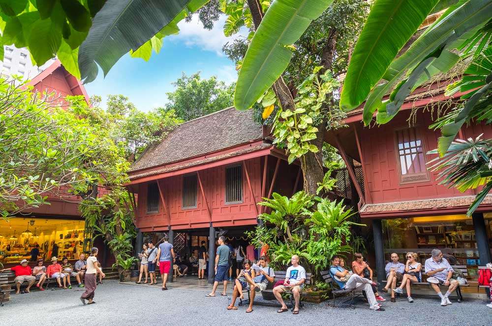 travelibro Thailand Bangkok Chiang Mai Hua Hin Ko Samui Pattaya Phuket Thailand Backpacking Jim Thompson House