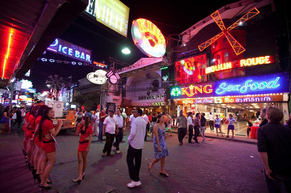 travelibro Thailand Bangkok Chiang Mai Hua Hin Ko Samui Pattaya Phuket Thailand Backpacking Walking Street