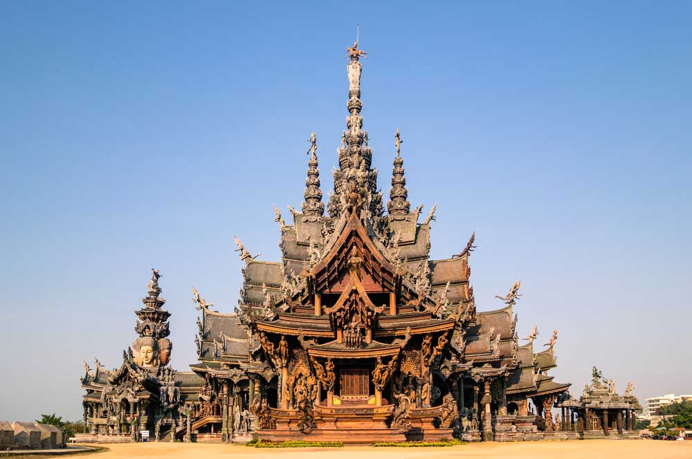 travelibro Thailand Pattaya 3 Days in Pattaya Sanctuary of Truth