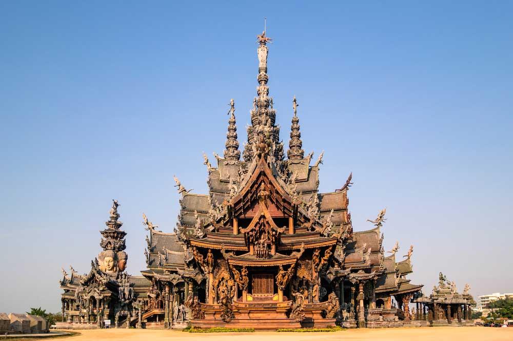 travelibro Thailand Bangkok Chiang Mai Hua Hin Ko Samui Pattaya Phuket Thailand Backpacking Sanctuary of Truth
