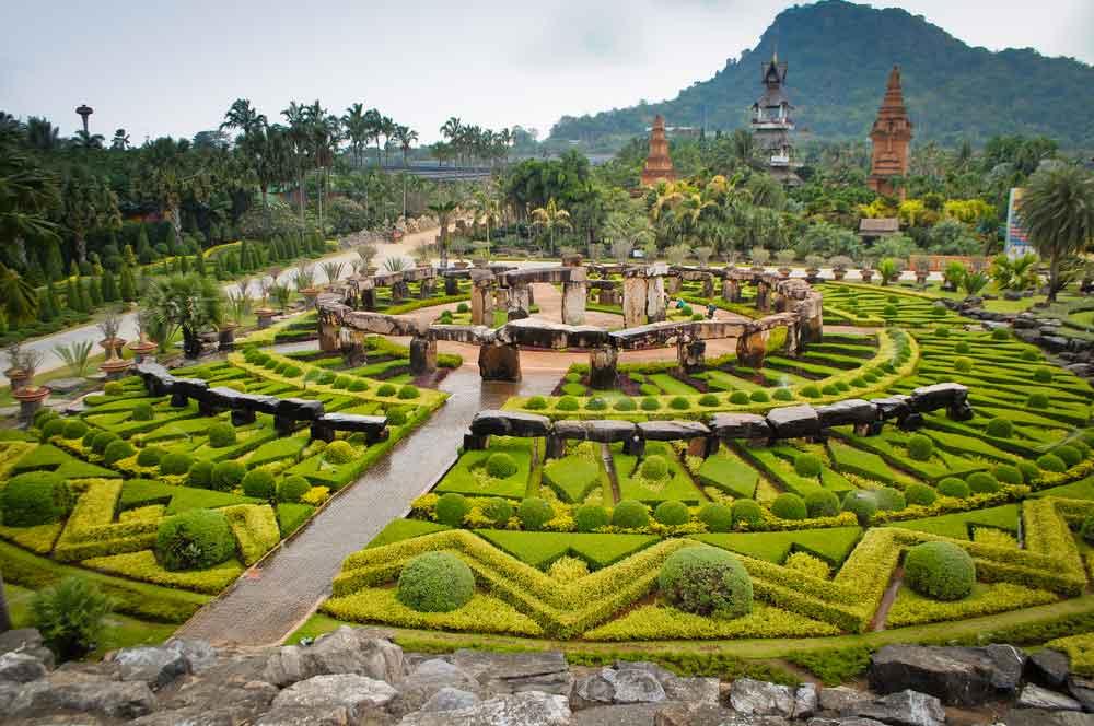travelibro Thailand Bangkok Chiang Mai Hua Hin Ko Samui Pattaya Phuket Thailand Backpacking Nong Nooch Tropical Garden