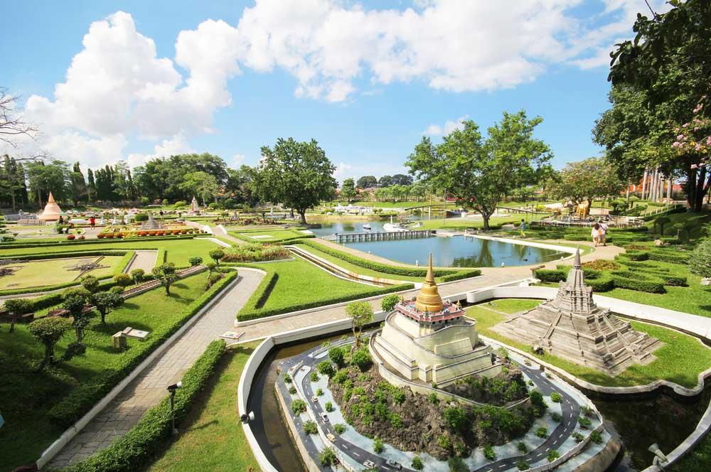 travelibro Thailand Bangkok Chiang Mai Hua Hin Ko Samui Pattaya Phuket Thailand Backpacking Mini Siam