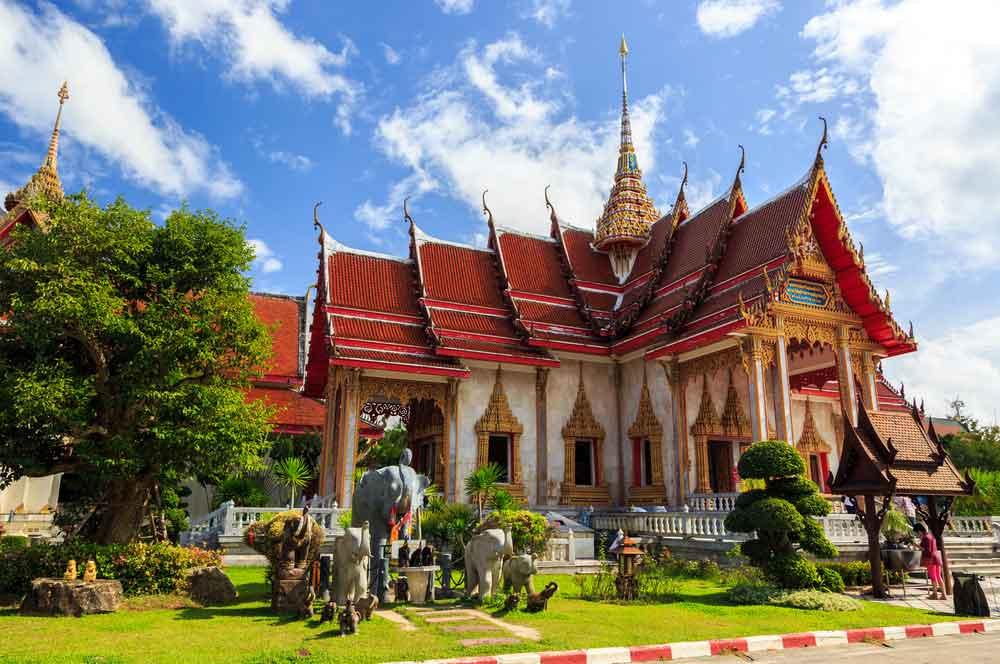 travelibro Thailand Bangkok Chiang Mai Hua Hin Ko Samui Pattaya Phuket Thailand Backpacking Wat Chalong