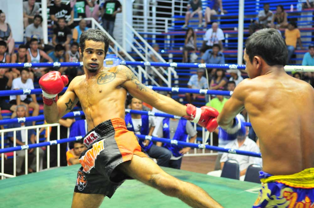 Thai boxing  bangla stadium www.tigermuaythai