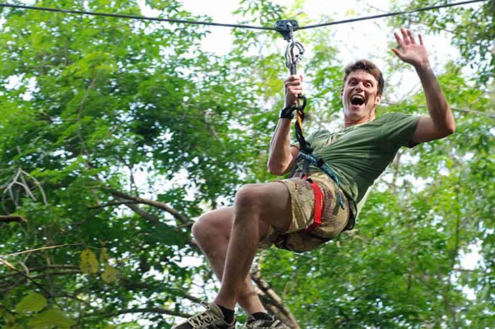 travelibro Thailand Bangkok Chiang Mai Hua Hin Ko Samui Pattaya Phuket Thailand Backpacking Zipline at Flying Hanuman