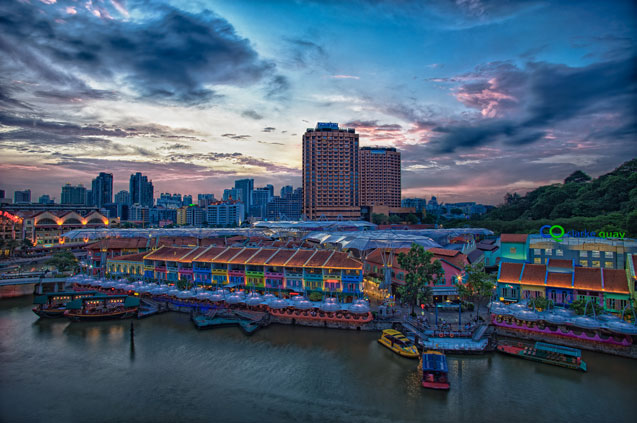 Clarke quay credit edward tian   singapore tourism board