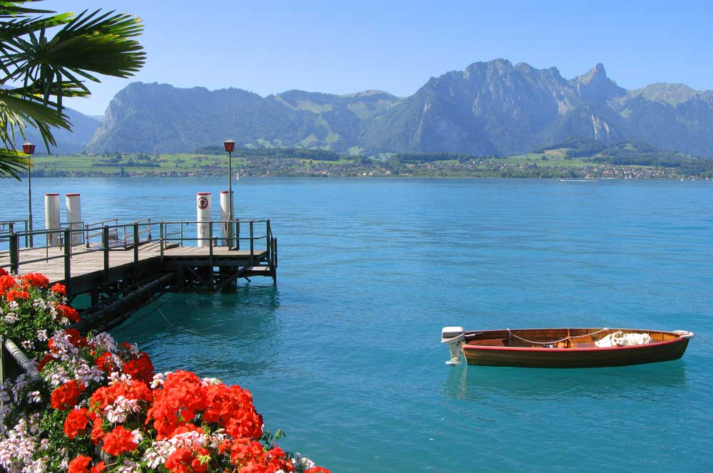 travelibro Switzerland Geneva Interlaken Montreux St. Moritz Zermatt Zurich Switzerland Honeymoon Lake Thun Cruise