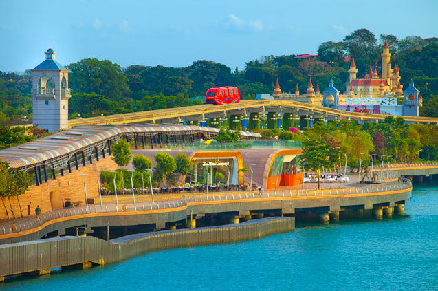 Sentosa boardwalk singapore tourism board