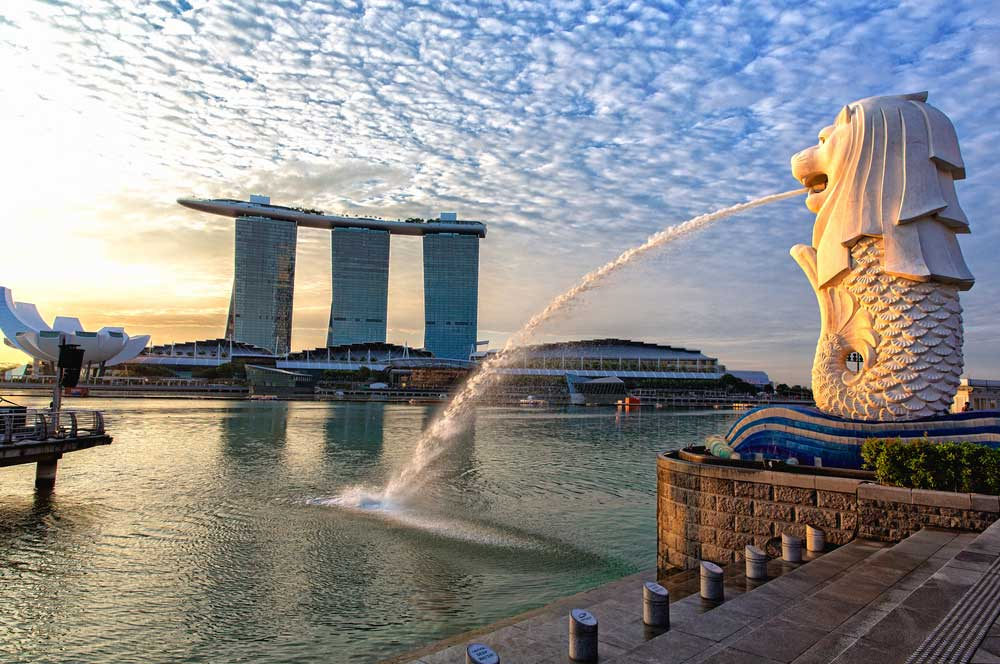 travelibro Singapore Singapore Singapore Backpacking The Merlion