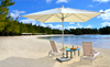 Exclusive beach at ile aux cerfs